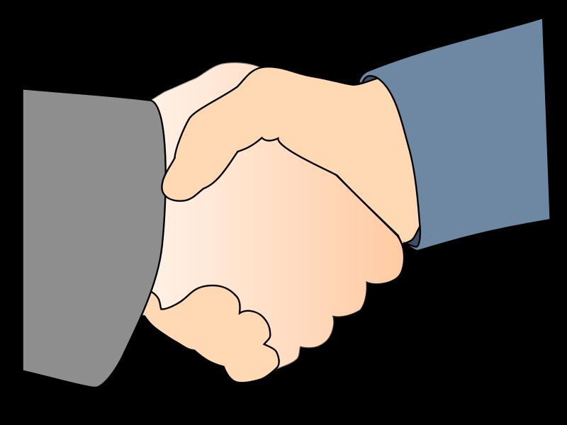 Free HandshakeWithBorder