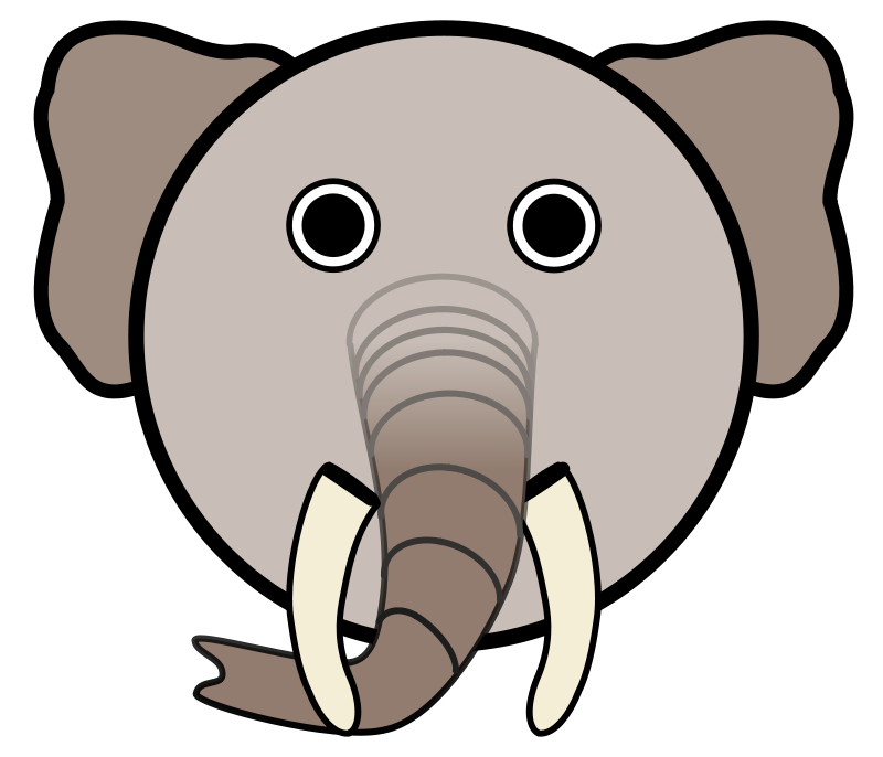 Free Clipart: Elephant | Linuxien