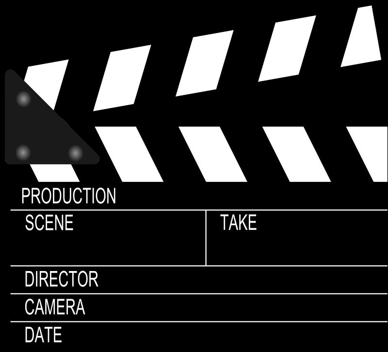 Free Movie Clapperboard