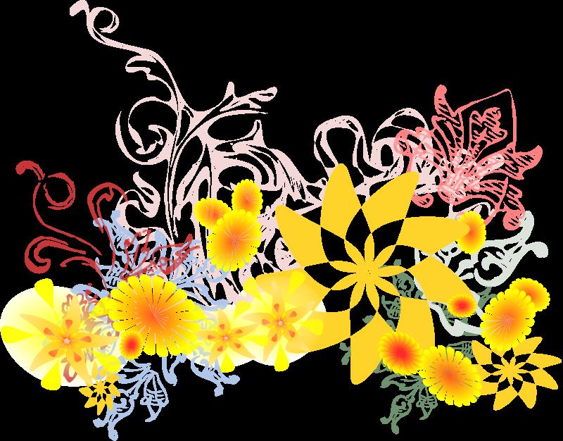 Free Flourishing Flowers