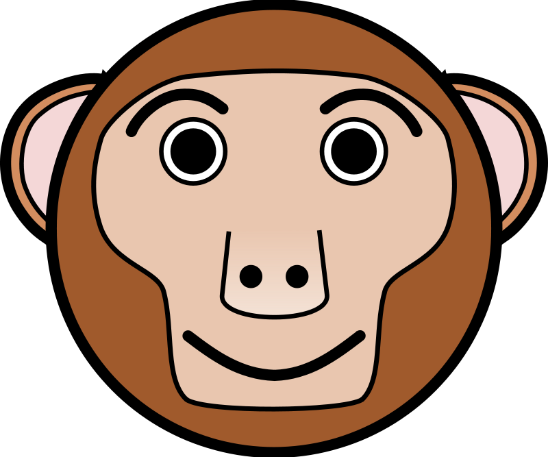 Free Clipart: Singe | Linuxien