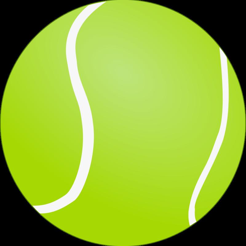 Free Clipart: Tennis Ball - Bola de Tenis | lunik