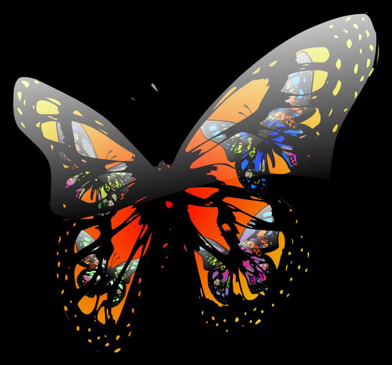Free Butterfly Effect