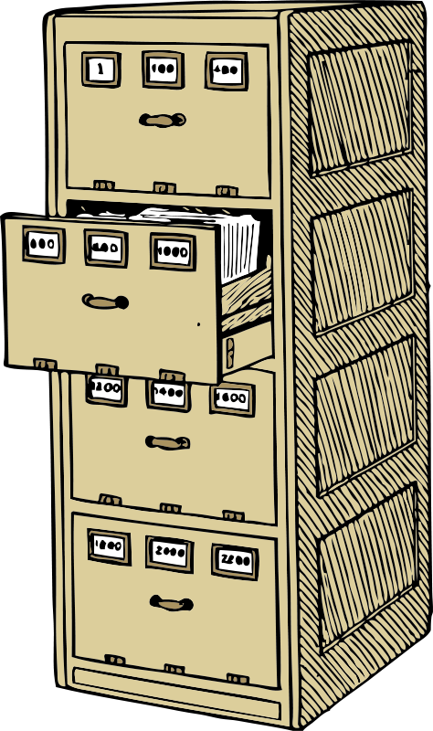 Free vertical document trays