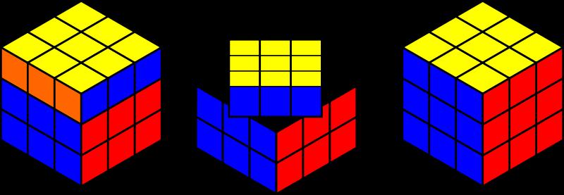 Free Rubik's cube solving