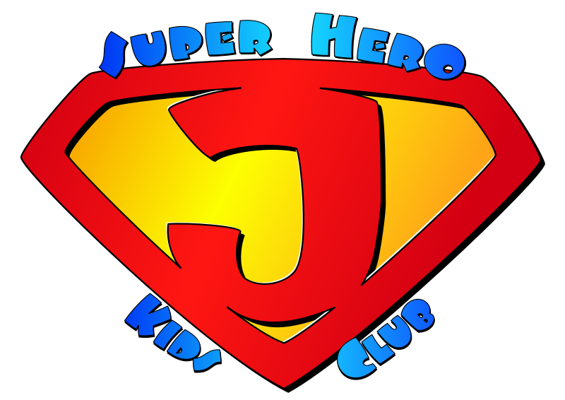 Free Super Jesus Kids Club Logo
