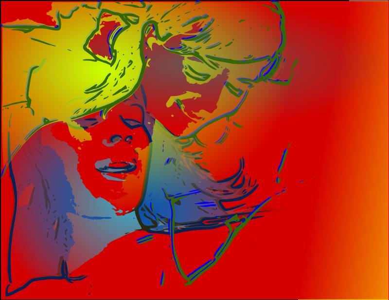 Free Psychotic Portrait (3)