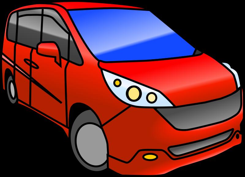 Free Minivan Automobile (color)