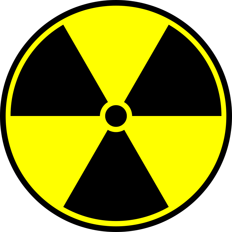Free Radioactive symbol