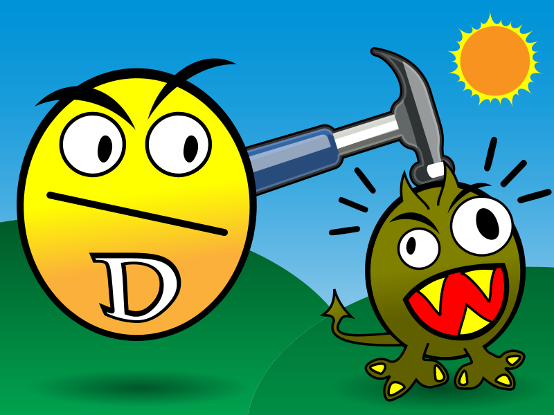 Free Clipart: Vitamin D Smashes Cancer | leftover_bacon