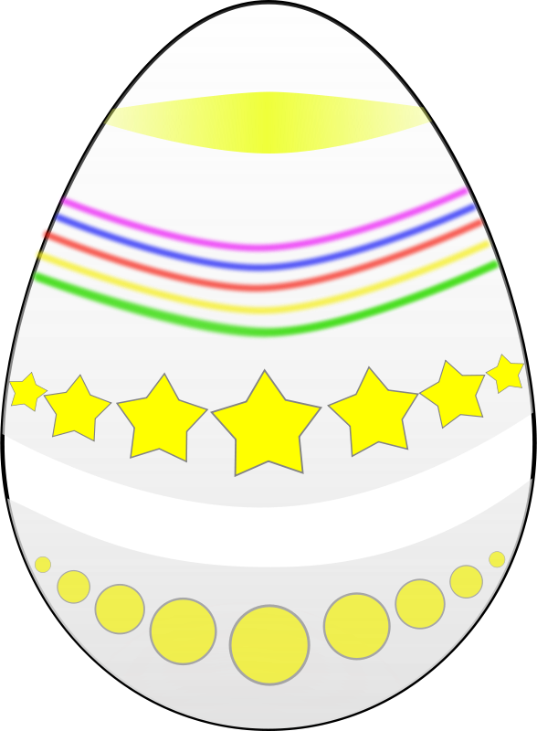 Free Easter egg (Painted)