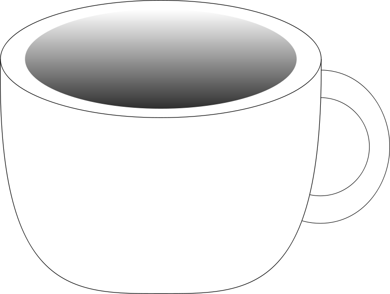 Free Cup containing a dark beverage