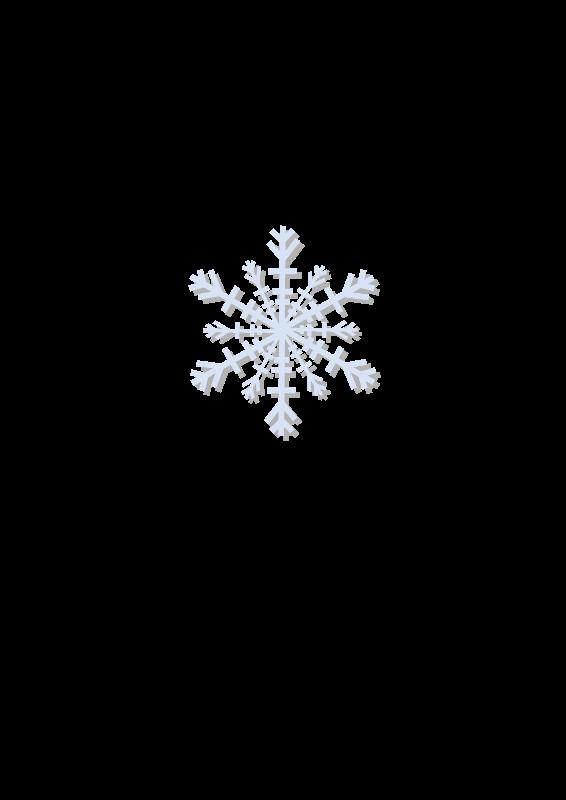 Free snow flake