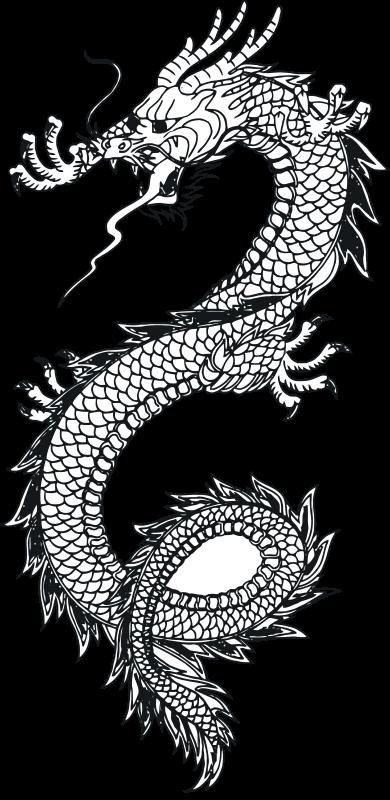 Free Dragon Vector Art 1