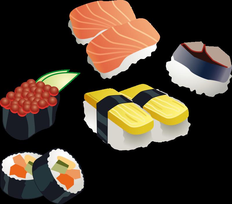 Free Sushi set