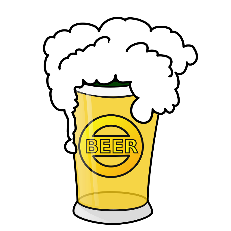 Free Beer glass