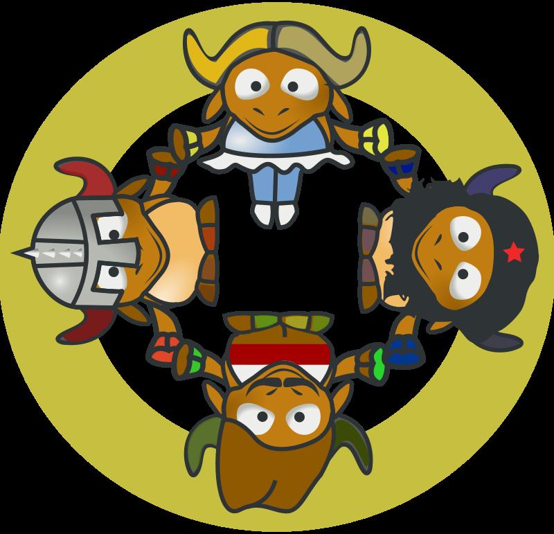 Free GNU Circle
