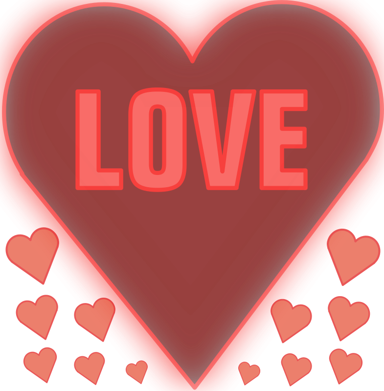 Free Love in a heart