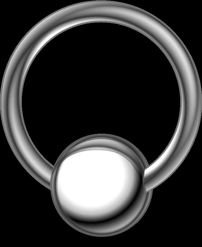 Free piercing-ring