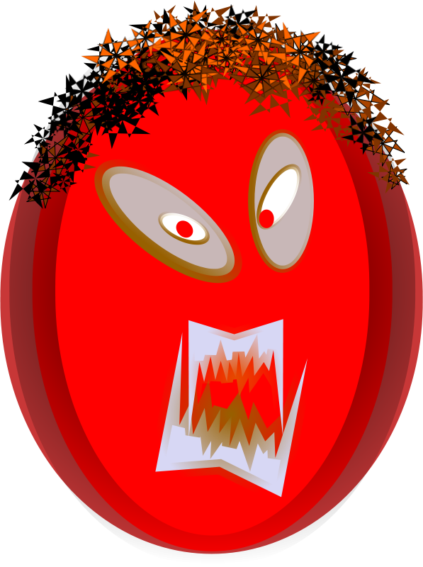 Free Angry Mask