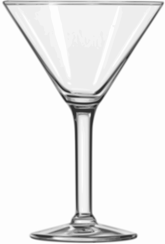 Free Cocktail Glass (Martini)