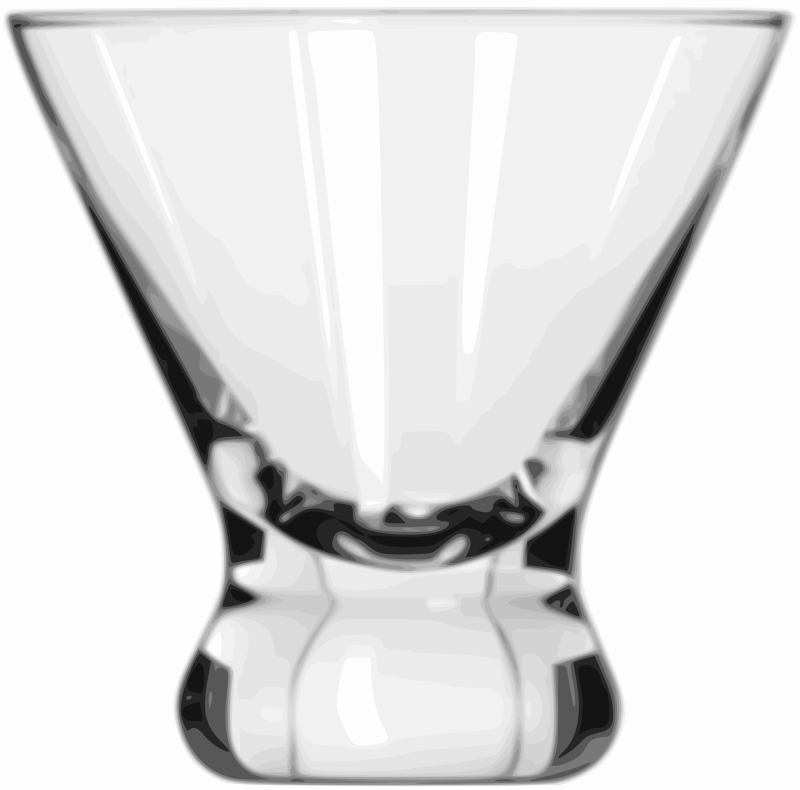 Free Cocktail Glass (Cosmopolitan)