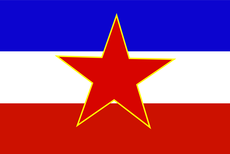Free Flag of Yugoslavia - historic