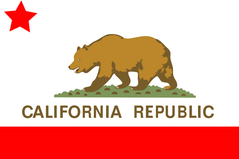 Free Flag of the state of California