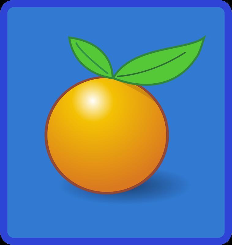 Free tile orange