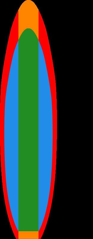 Free surfboard