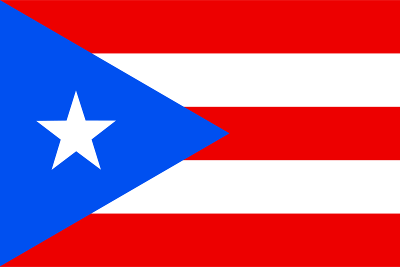 Free Flag of Puerto Rico