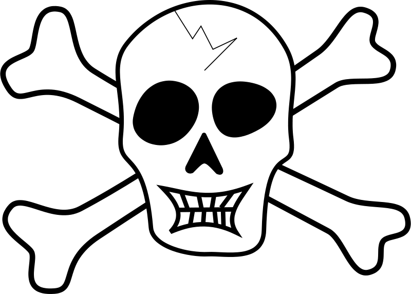 Free Clipart: Pirate Skull | tribut