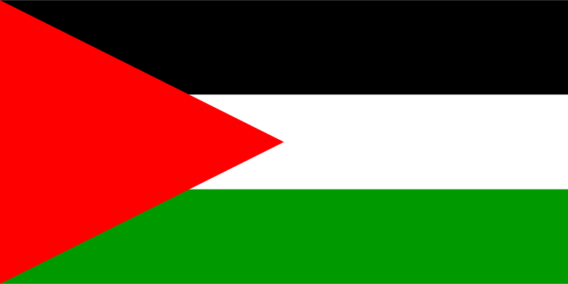 Free Clipart: Flag of Palestine | Anonymous