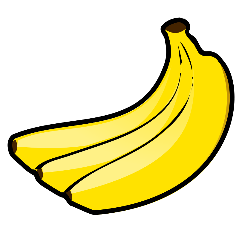 free clipart bananas nicubunu rh 1001freedownloads com banana clipart jpg banana clipart transparent