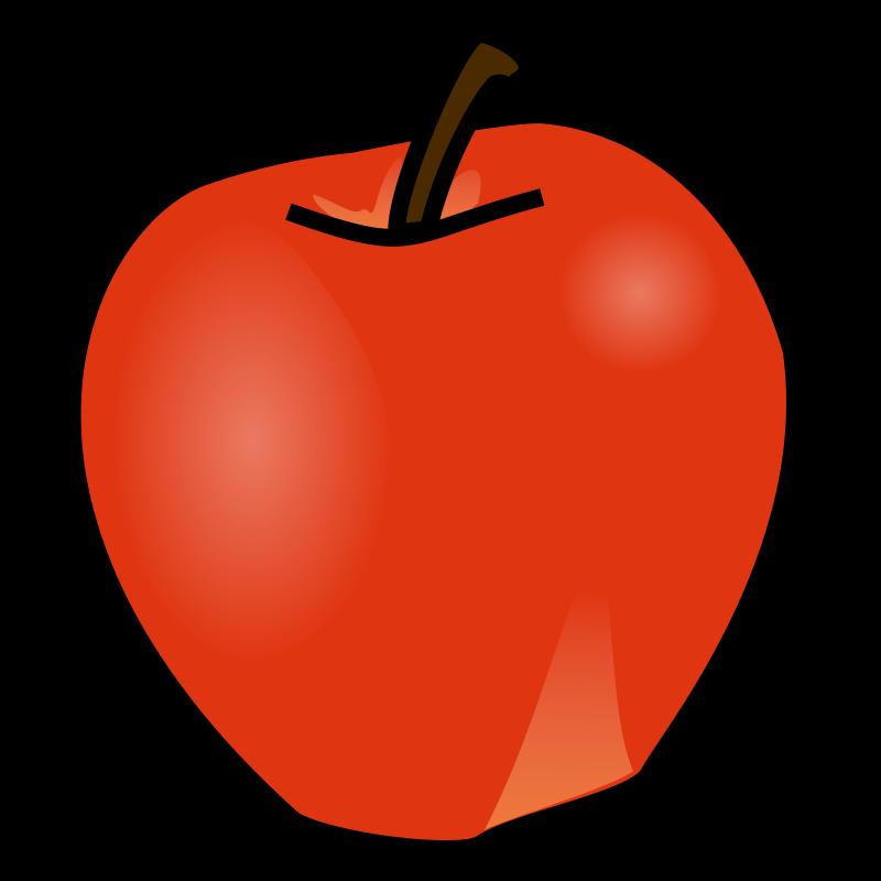 free clipart apple nicubunu