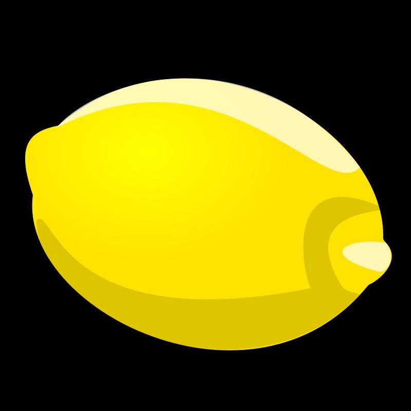Free Clipart: Lemon | nicubunu