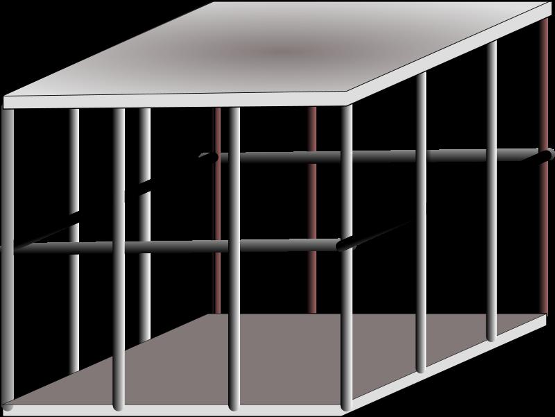 Free metal cage