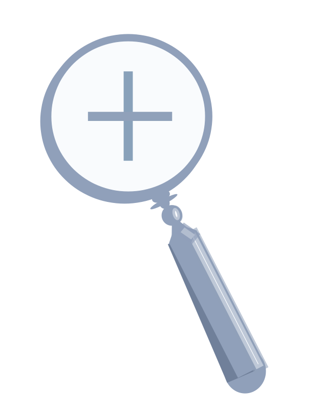 Free Clipart: Magnifying glass | Anonymous