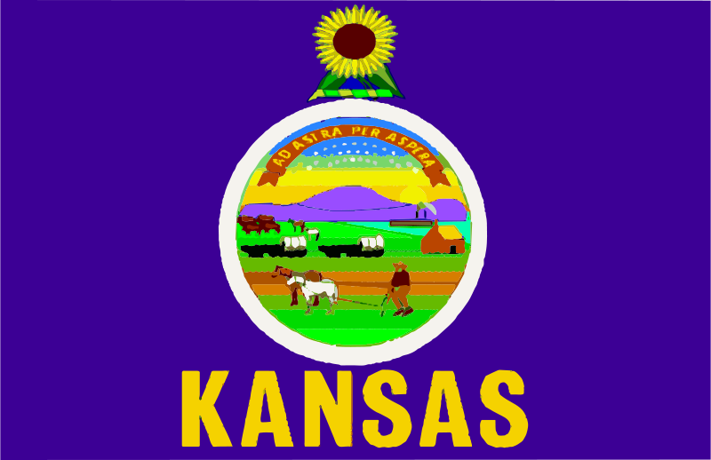Free Flag of Kansas