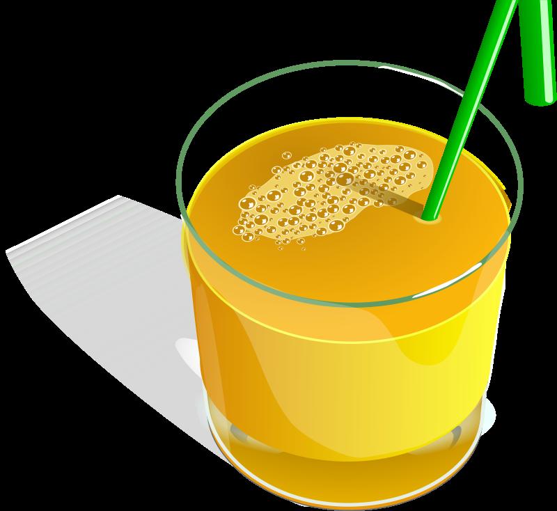 Free juice glass