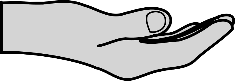 Free Clipart: Hand | Anonymous