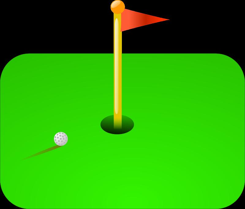 Free golf flag