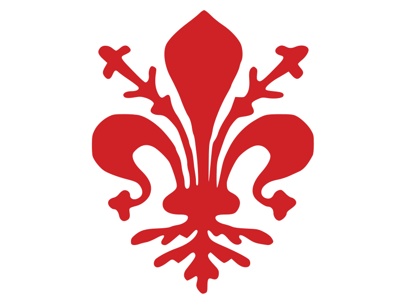 Free city flag of Florence