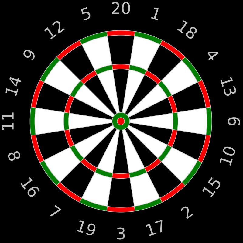Free dartboard