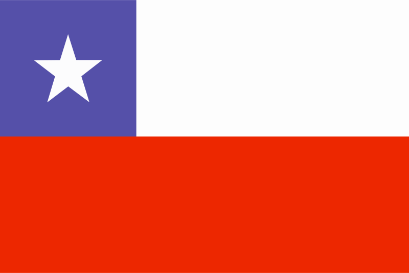 Free flag of Chile