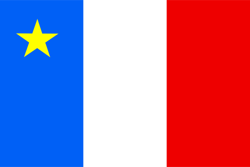 Free flag of acadia canada