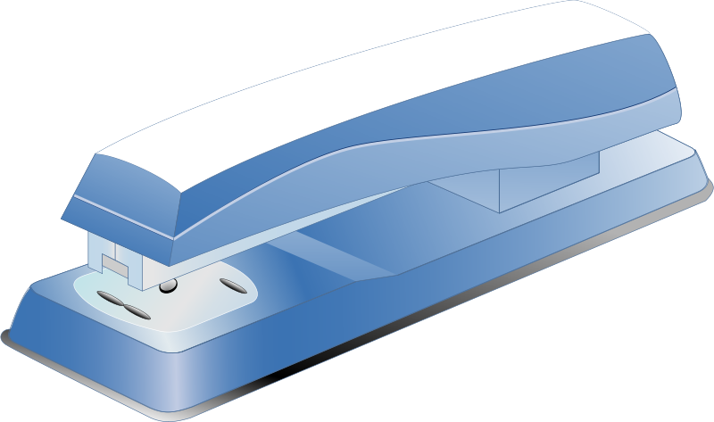 Free blue stamper