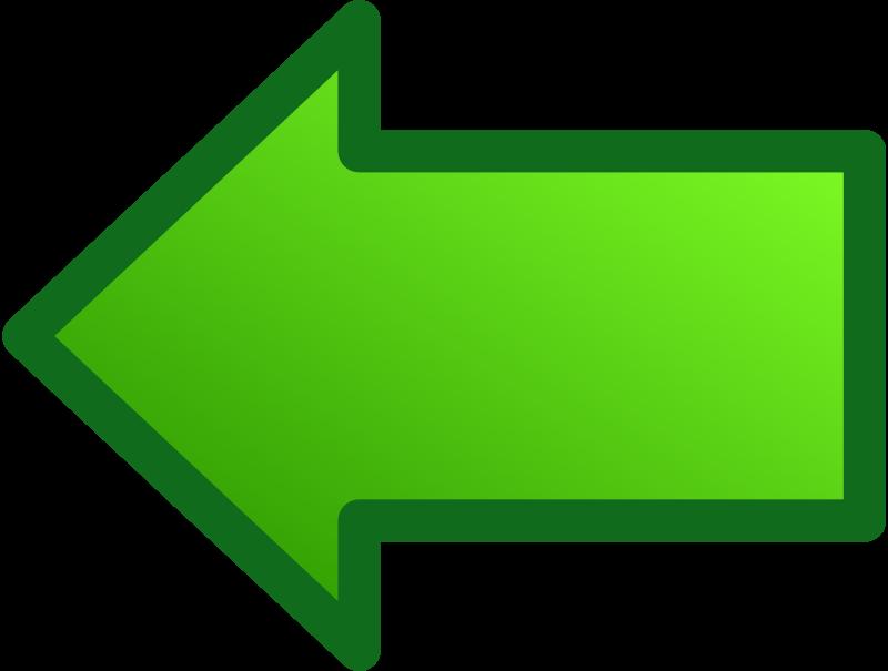 Free green arrows set