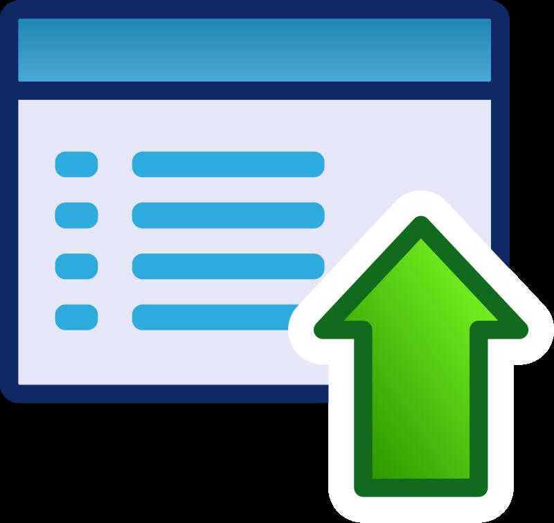 Free green menu icon set
