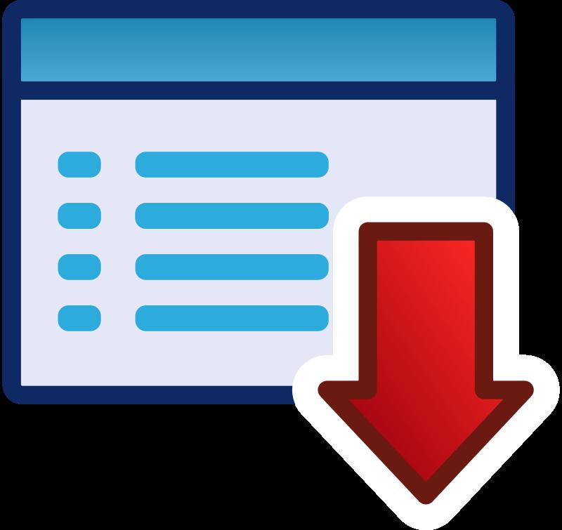 Free red menu icon set
